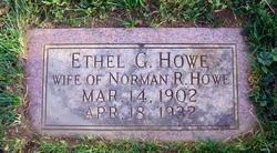 Ethel G Howe
