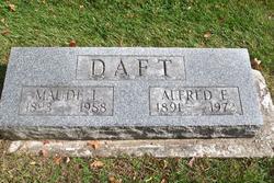 Alfred E Daft