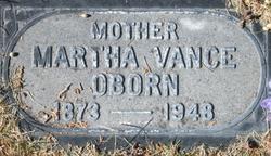 Martha Alzina <i>Vance</i> Oborn