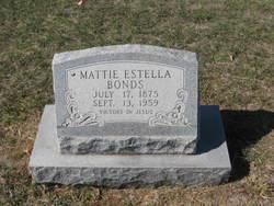 Mattie Estella Bonds