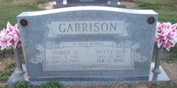 Betty Sue <i>Gathright</i> Garrison