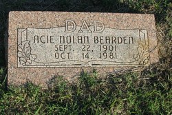 Acie Nolan Bearden