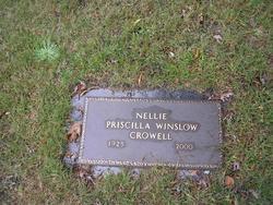 Priscilla Nellie <i>Winslow</i> Crowell