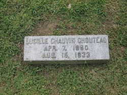 Lucille Manette <i>Chauvin</i> Chouteau