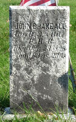 John C Brakeall