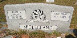Adell <i>Thrift</i> McClelland