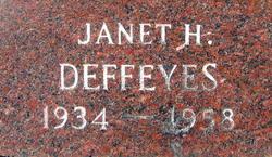 Janet <i>Howe</i> Deffeyes