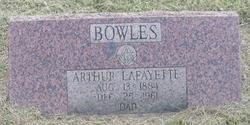 Arthur Lafayette Bowles