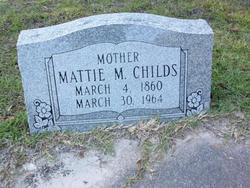 Mattie Martha <i>Smith</i> Childs