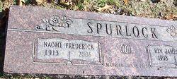 Naomi Elizabeth <i>Frederick</i> Spurlock