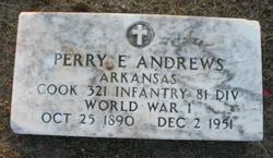 Perry E Andrews