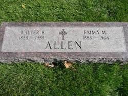 Emma Marie <i>Bauer</i> Allen