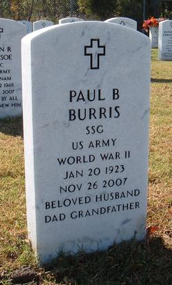 Paul Buddy Burris