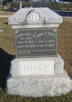 Catharine M. <i>Lyon</i> Gray