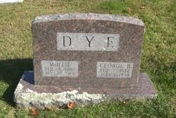 Mary Mollie <i>Crawford</i> Dye