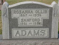 Rosanna A. <i>Ollis</i> Adams