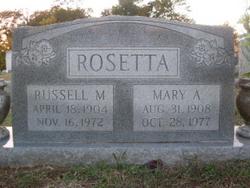 Mary Anna <i>Smith</i> Rosetta