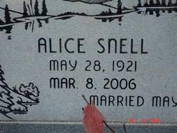 Alice <i>Snell</i> Black
