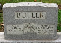 Margaret Frederica <i>Wodeking</i> Butler