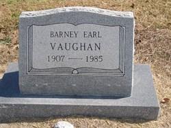 Barney Earl Vaughan