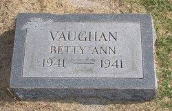 Betty Ann Vaughan