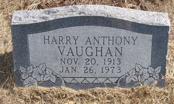 Harry Anthony Vaughan