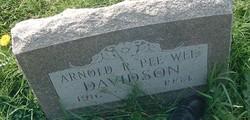 Arnold R Pee Wee Davidson