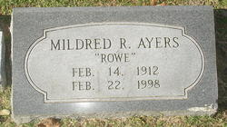 Mildred <i>Rowe</i> Ayers