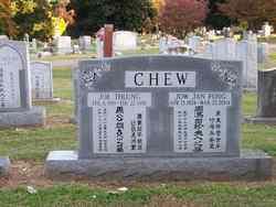 Jow Jan <i>Fong</i> Chew