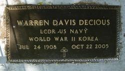 Warren Davis Decious