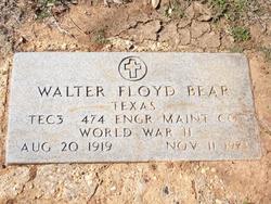Walter Floyd Bear