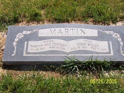 Jesse Bigler Martin