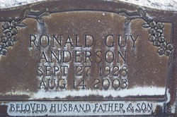 Ronald Guy Anderson