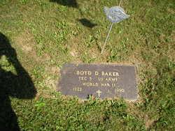 Boyd D Baker