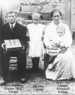 Mary Ann Annie <i>Rhinehart</i> Christy