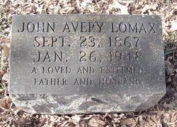 John Avery Lomax