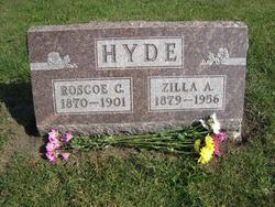 Zilla Anna <i>Honiter</i> Hyde