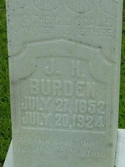 J H Burden