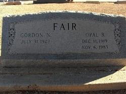 Gordon Newcome Fair