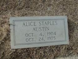 Alice <i>Staples</i> Austin