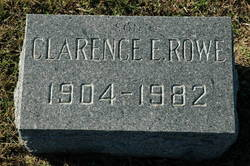 Clarence E. Schoolboy Rowe