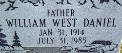 William West Bill or Buzz Daniel