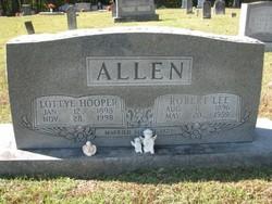 Lottye <i>Hooper</i> Allen