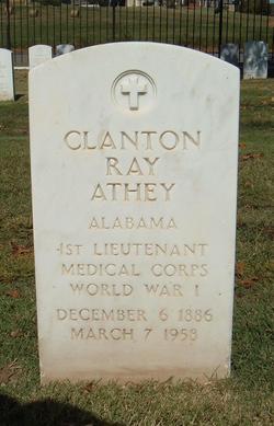 Clanton Ray Athey