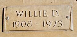 William David Willie Benedict