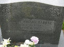 Hattie <i>Rigsby</i> Barker