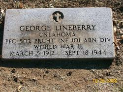 PFC George Lineberry