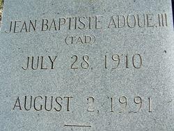 Jean Baptiste Tad Adoue, III