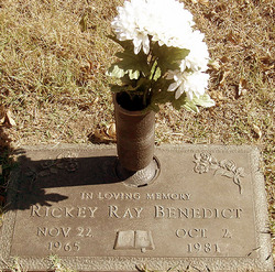 Ricky Ray Benedict