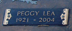 Peggy Lea Benedict